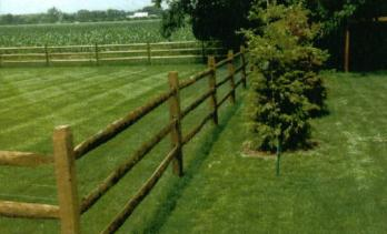 split rail acq treated southern yellow pine an alternative to board fence two or three rail systems in stock using an electrified fence woven wire or